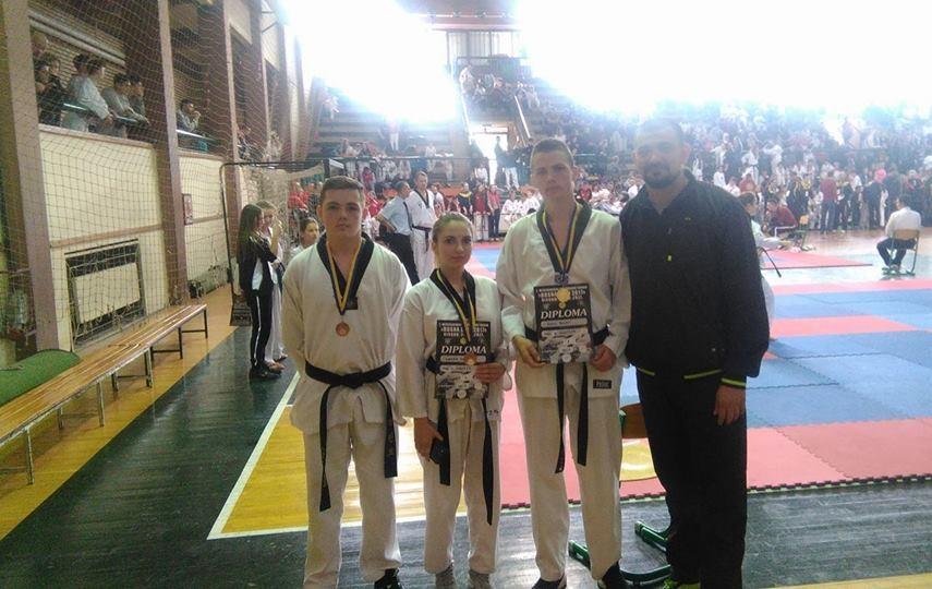taekwondo klub vogosca medalje na bosna open 2017